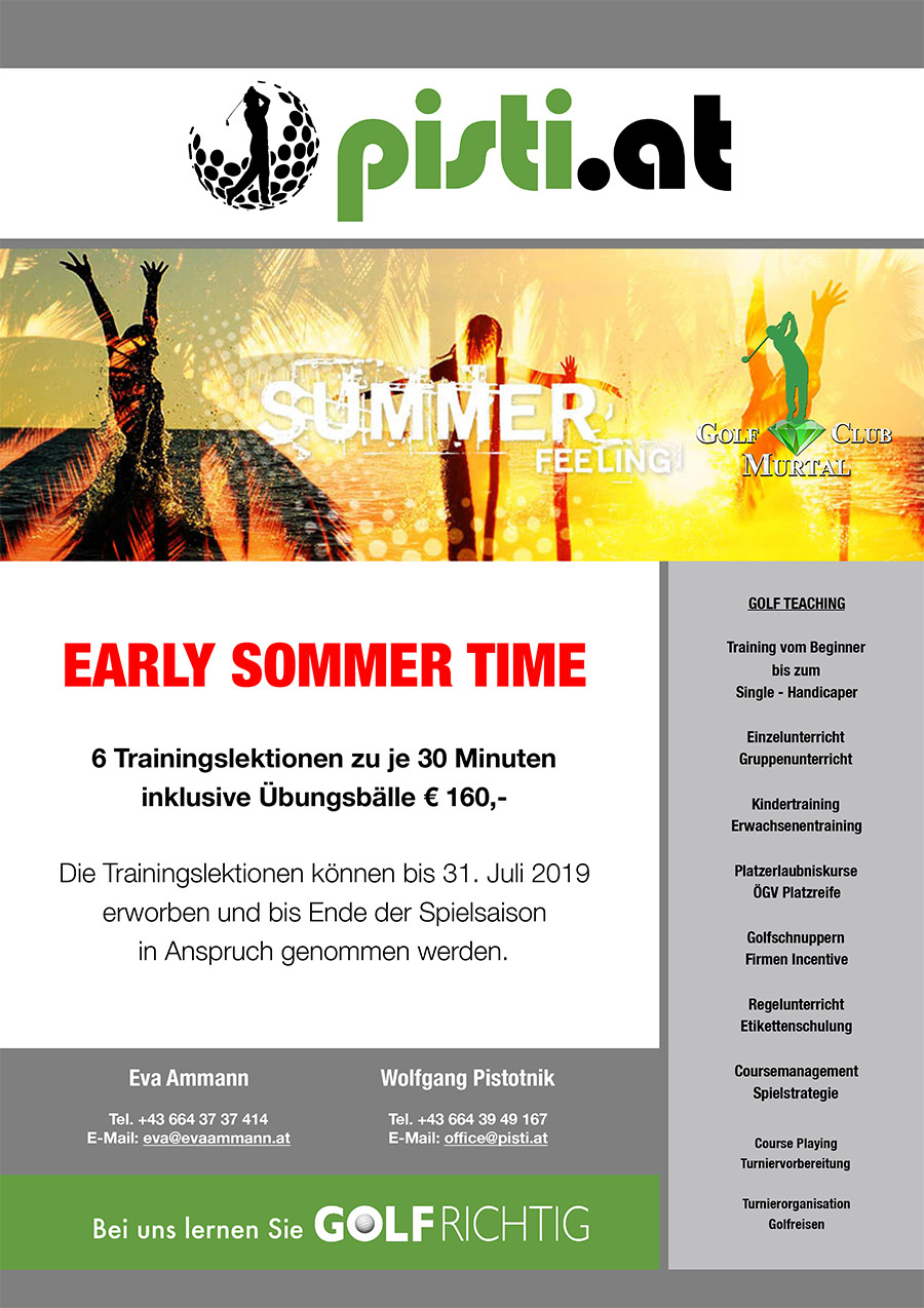 Early Sommer Time 2019
